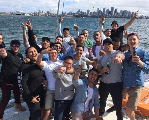 Bucks Party Cruise on Rockfish