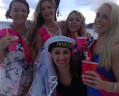 Sydney Harbour Hens Party