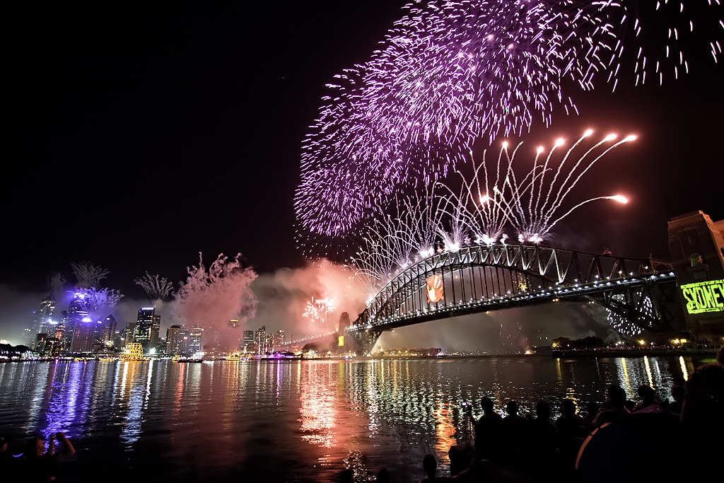 Sydney's New Year's Eve Fireworks on Rockfish