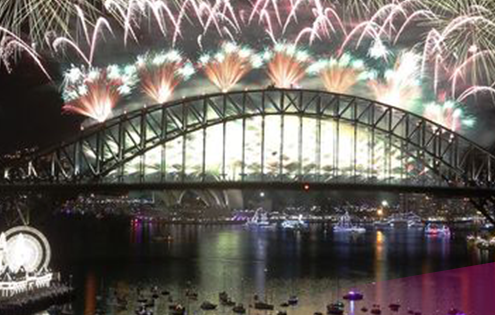 Sydney's New Year's Eve fireworks