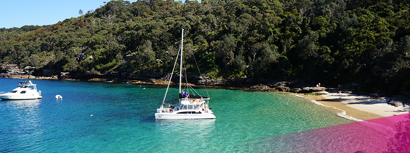 Hire a catamaran for your Sydney Harbour cruise