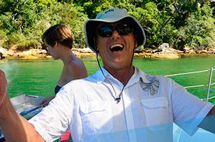 Rick - Skipper on Rockfish Catamarans
