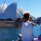 Cruise past Sydney Opera House on Rockfish Catamarans