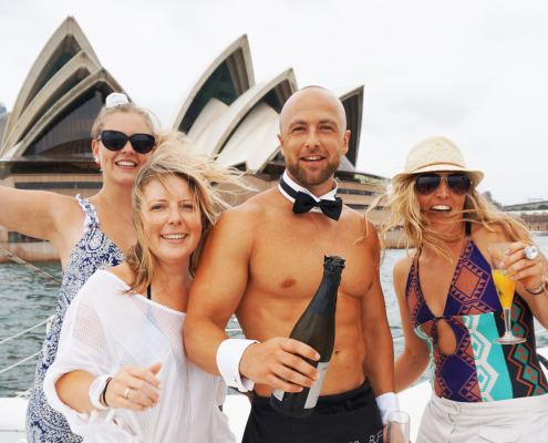 Rockfish Catamaran Hens Party Cruise