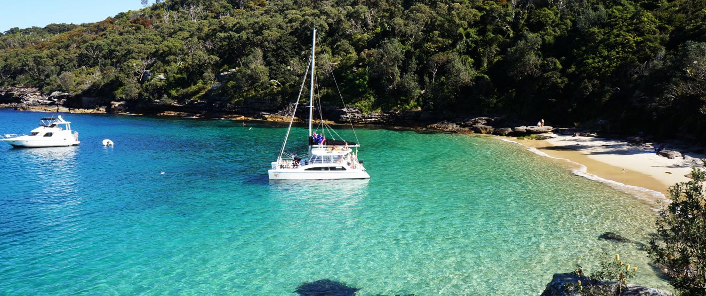 Rockfish Catamaran in Sydney Harbour
