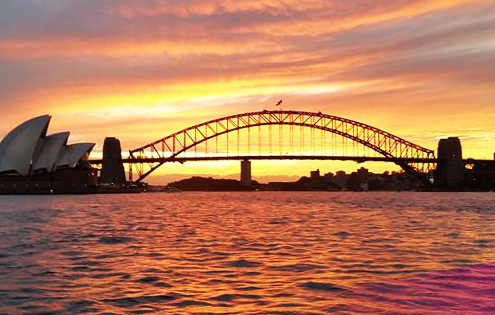 Sydney Harbour Sunset | Rockfish