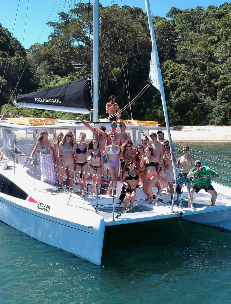 Sydney Harbour Catamaran Charters Rockfish Birthday Parties