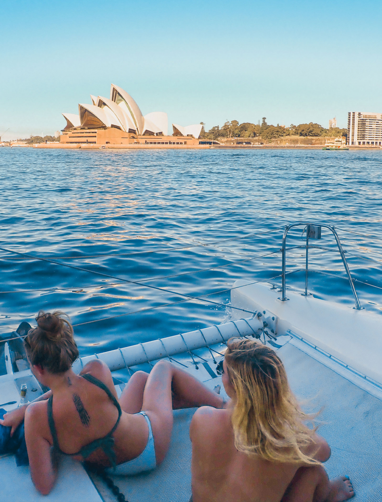 Sydney Harbour Catamaran Charters Private Hire