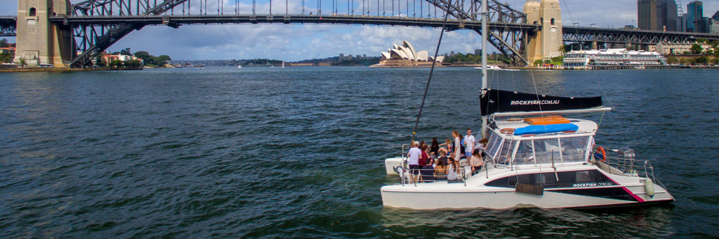 Sydney Harbour Catamarans Rockfish 1 Hire