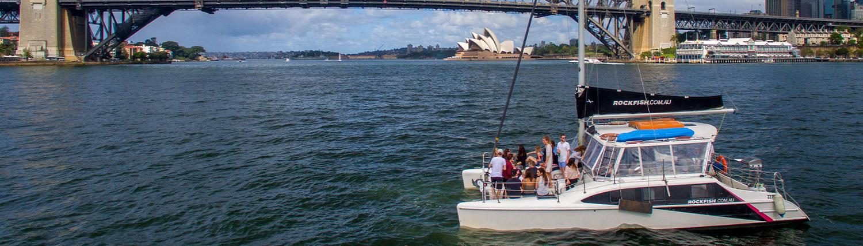 Sydney Harbour Catamarans Rockfish 1 Hire