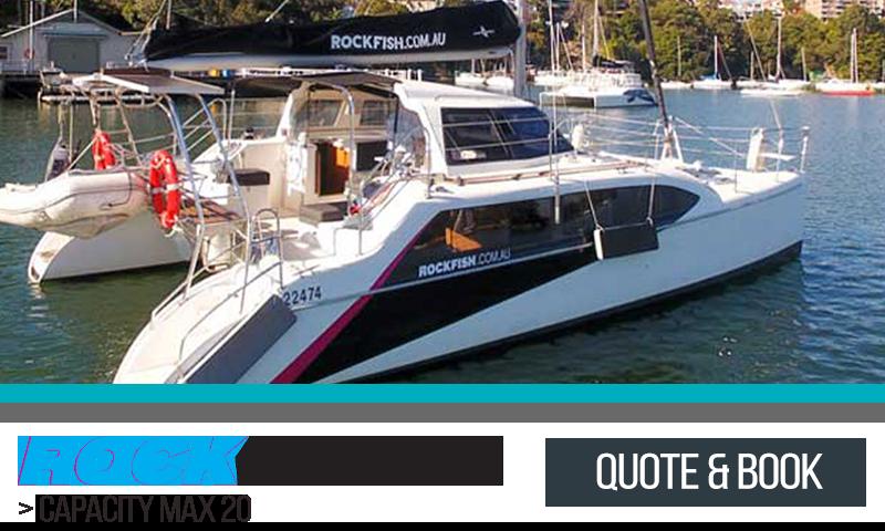 Sydney Harbour Catamaran Charters Rockfish II