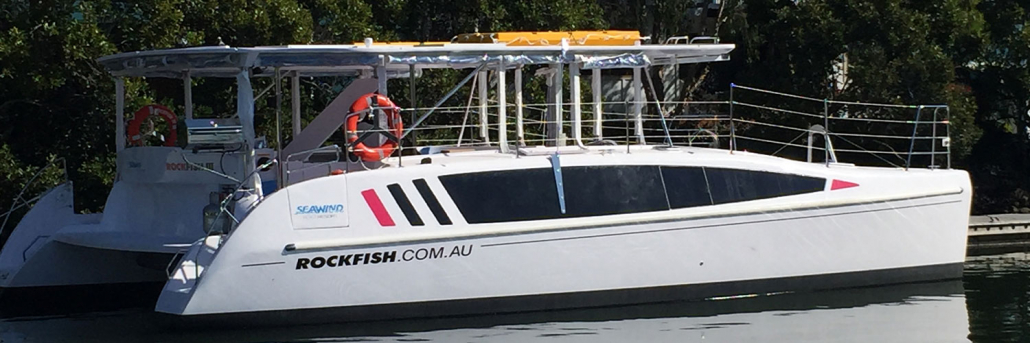 Sydney Harbour Catamarans Rockfish 3 Hire
