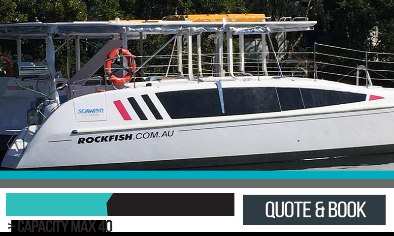 Sydney Harbour Catamaran Charters Rockfish III