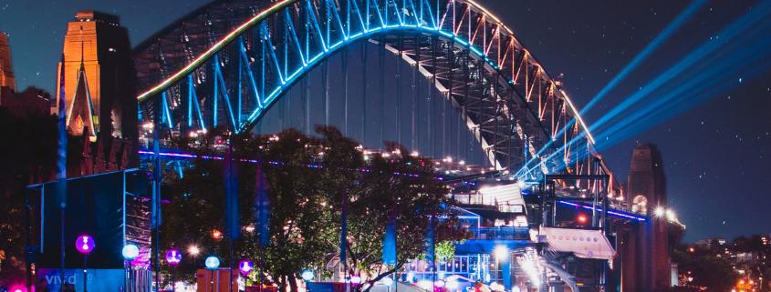 Sydney Harbour Catamaran Charters Vivid Party Hire