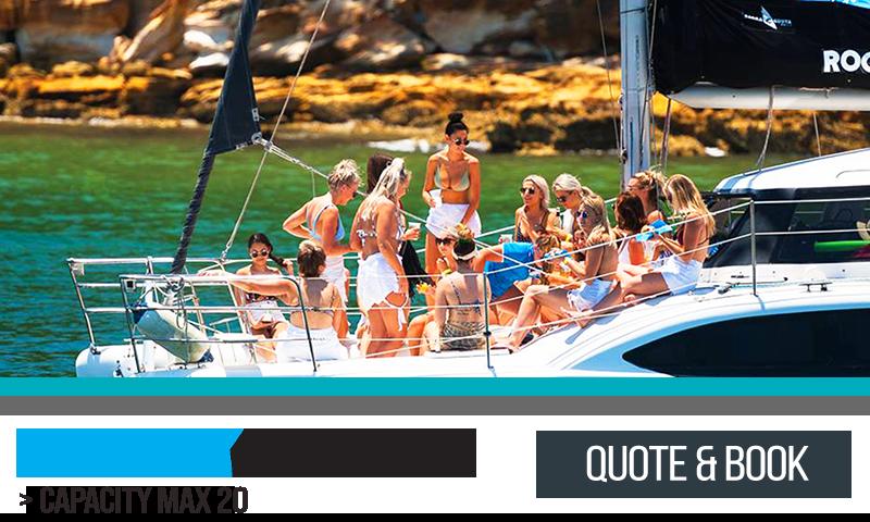 Rockfish Catamaran Hire Sydney Harbour 2